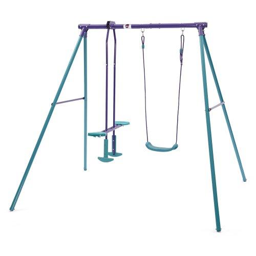 Plum Helios II Metal Garden Swing & Glider Set
