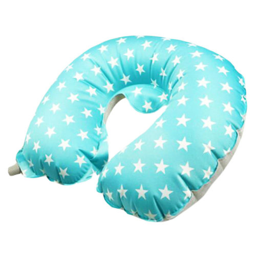 Outdoor Convenient Travel Pillow Inflatable U-shaped Neck Pillow