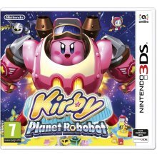 Kirby Planet Robobot Nintendo 3DS Game
