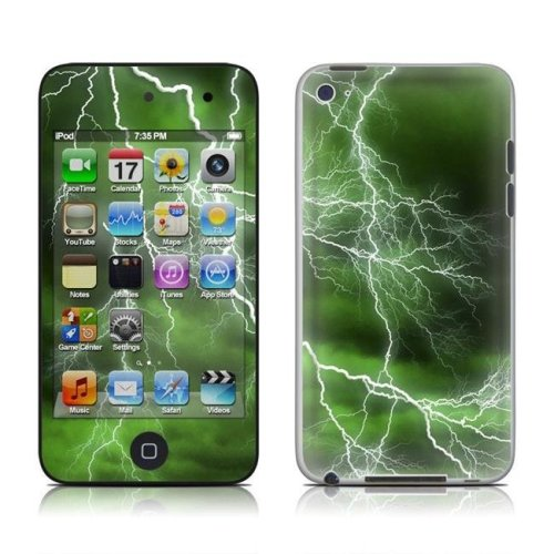 DecalGirl AIT4-APOC-GRN iPod Touch 4G Skin - Apocalypse Green