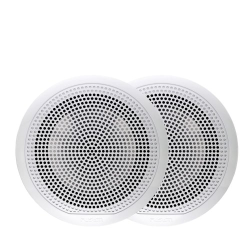 "Fusion EL-F651W 6.5"" 80W EL Series Shallow Mount Marine Speaker¦IP65¦White¦Pair"