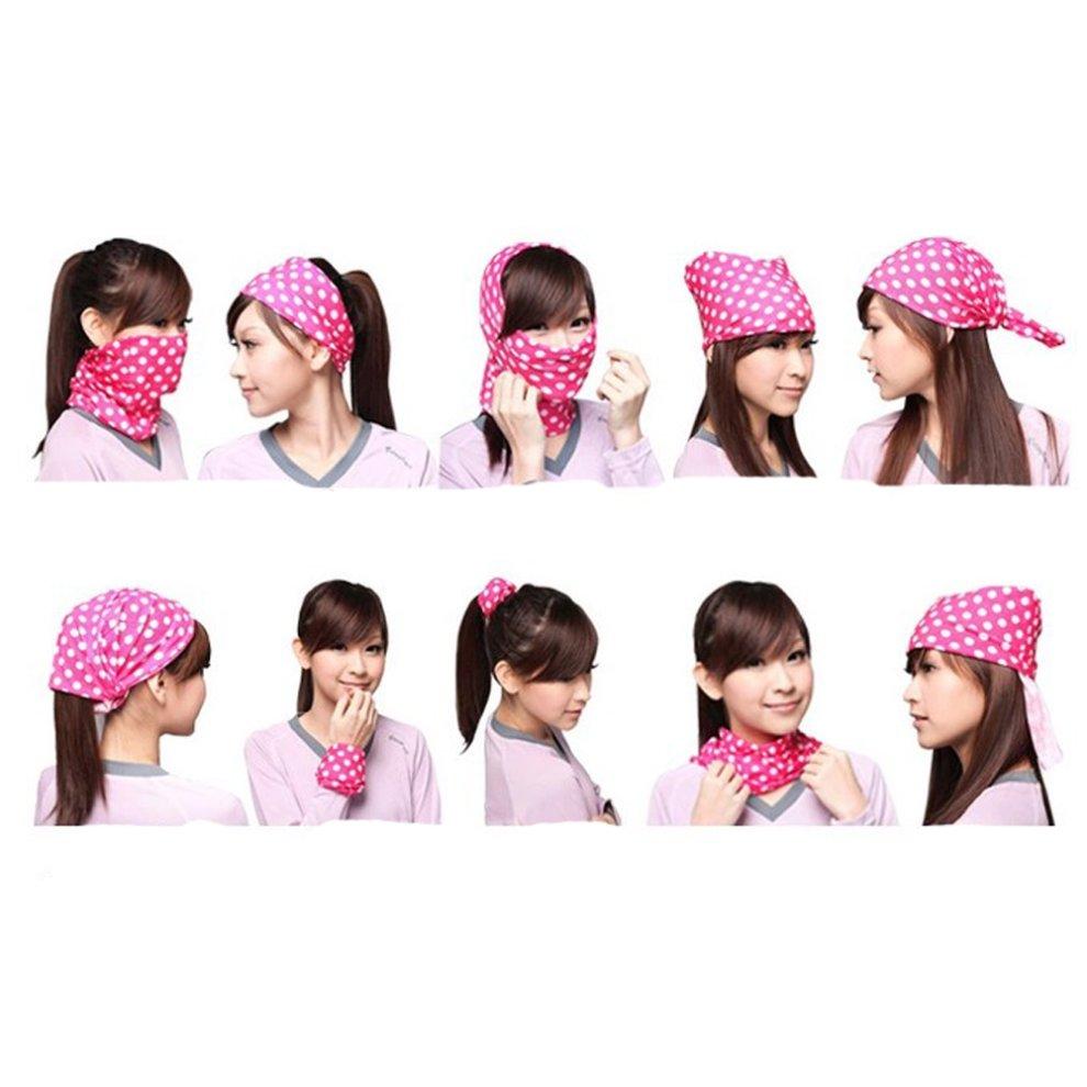 Yellow Zebra Face Mask Bandana Head Wear Face Shield Guard Headband For  Cycling