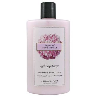 Victoria'S Secret Garden Soft Raspberry Layers Of Love Spell Hydrating Body Lotion 8.4 Fl Oz