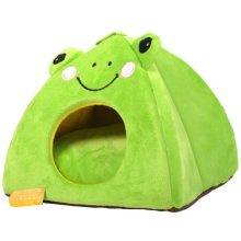 Pet Bed Dog Puppy Cat Soft Cotton Fleece Warm Nest House Mat--The Frog Prince