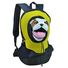 Pet Carrier Soft Sided Travel Bag for Small dogs & cats- Airline Approved, Yellow #19