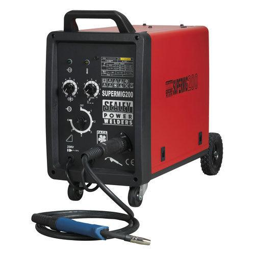 Sealey SUPERMIG200 200Amp Professional MIG Welder with Binzel Euro Torch