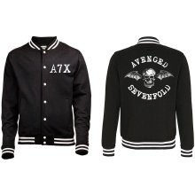 XXL Adult's Avenged Sevenfold Varsity Jacket -  xxl adults avenged sevenfold varsity jacket