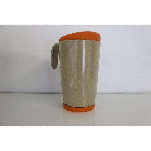 OLPRO Husk Re-Useable Café Mug - Orange