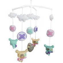 Beautiful Baby Musical Mobile, Unique Nursery Mobiles, Colourful