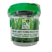 Solar Light Flying Insect Trap LED No Poison Or Chemicals -  roots shoots solar light flying insect trap brand new outdoor camping