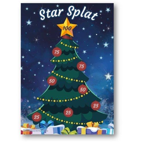 Star Splat Christmas Family Game