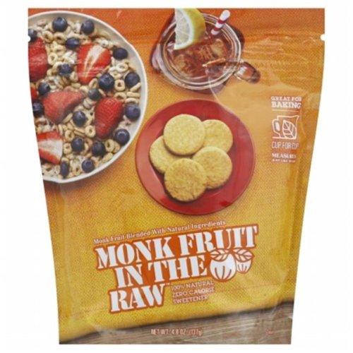 In The Raw 130929 4.8 oz. Sweetener Monk Fruit