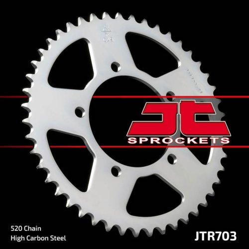 47T JT rear sprocket 520 Aprilia RS125 Pegaso RSV 1000 RSV4 BMW G 650