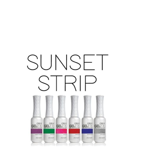 Orly Gel FX Gel Nail Lacquer Sunset Strip Collection 9ml