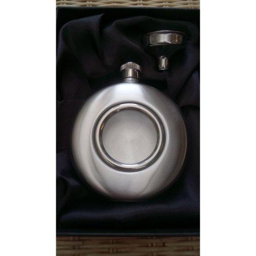 5oz Port Hole Hip Flask Gift Set