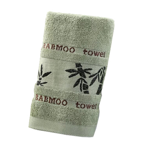 Sets of 2 Luxury Bamboo Fiber Soft Bath Towel Strong Absorbency Towel, NO.8