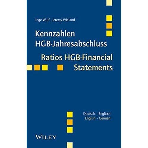 Kennzahlen HGB-Jahresabschluss / Ratios HGB-Financial Statements: Deutsch - Englsich / German - English