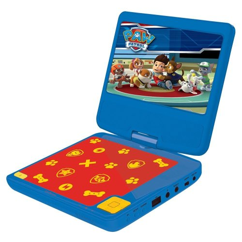 Lexibook DVDP6PA Paw Patrol Portable DVD Player