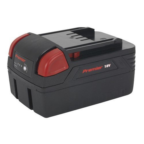 Sealey CP3005BP4 Cordless Power Tool Battery Lithium-ion 18V/4Ah for CP3005