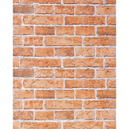 EDEM 583-23 Rustic design brick wallpaper decor vintage stone look brown