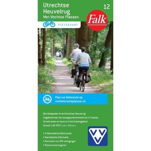 Utrechtse Heuvelrug 12 cycle map (Falkplan fietskaart)