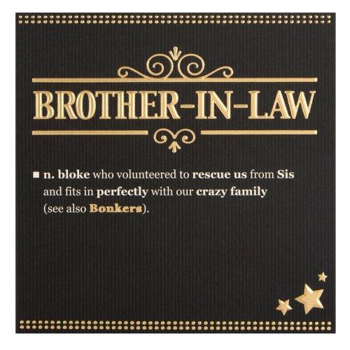 Hallmark Brother In Law Birthday CardBonkers