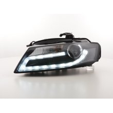 Daylight Headlight Audi A4 from Year 2008 black with Daytime running