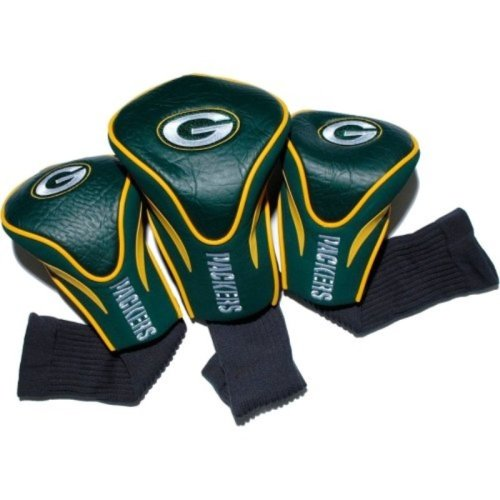 NFL Green Bay Packers 3 Pack Contour Head Covers
