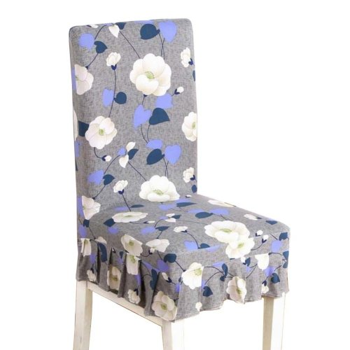 [Flowers-05] Stretch Dining Chair Slipcover Chair Cover Chair Protector