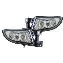 Fiat Bravo 2007-> Front Fog Light Lamps 1 Pair O/s & N/s