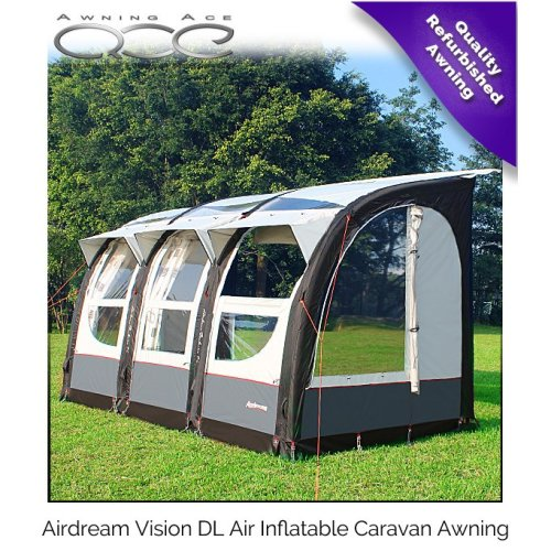 Camptech Airdream Vision DL 390 Heavy Duty 300D Inflatable Awning