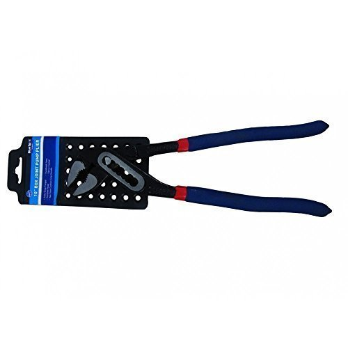 """10"""" 250mm Water Pump Plier Groove Joint Multi Position Adjust Blue Spot 06436 -  10 water pump pliers wrench plumbers joint pipe grips blue spot box"""