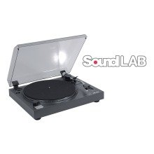 Soundlab Professional Usb Pitch Controlled Turntable with Audacity Software and Usb Lead