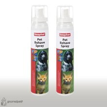 Beaphar Pet Behave Spray, 125 ml x 2