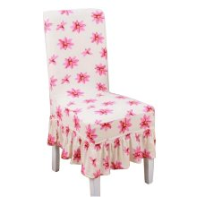 [Flowers-12] Stretch Dining Chair Slipcover Chair Cover Chair Protector