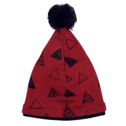 Winter Fashion Kid Beanie Hat Warm Children Beanie Cap Warmer, Wine