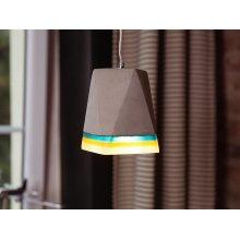 Ceiling lamp - Lighting - Pendant light - Concrete - Grey - MABEL