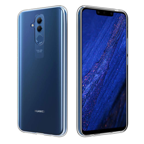 iPro Accessories Huawei Mate 20 Lite Phone Case, Huawei Mate 20 Lite Transparent Cover, Huawei Mate 20 Lite Crystal Clear Case, Silicone Back Gel Cover Case [Anti-Scratch] with Soft Bumper Case