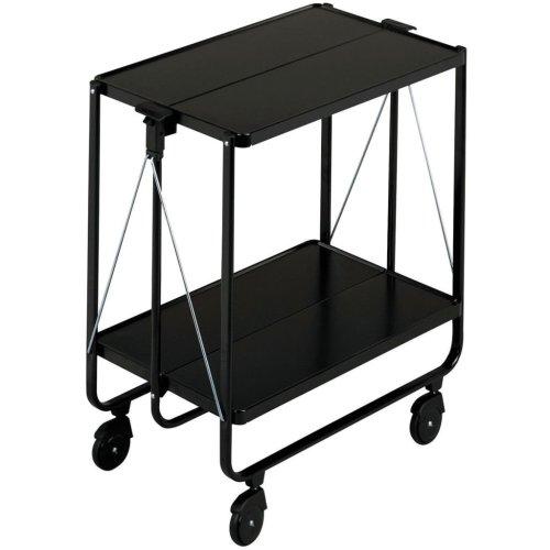 Leifheit Folding Kitchen Trolley Black 74237