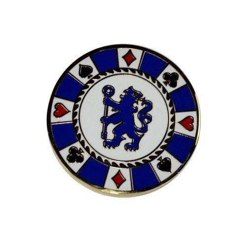 Chelsea FC Official Football Crest Casino Chip Golf Ball Marker