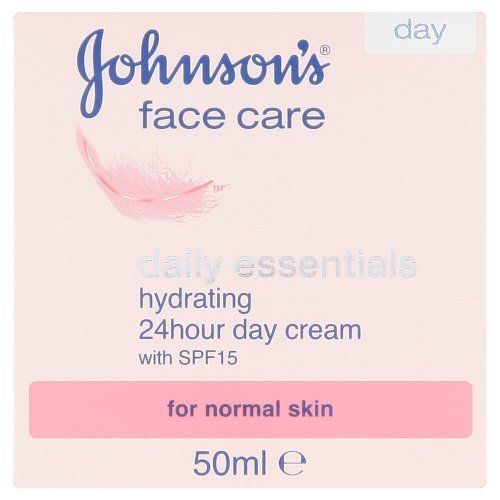 Johnsons Face Care Daily Essentials Hydrating 24 Hour Day Cream with SPF15 50ml