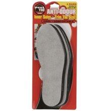 Unisex Anti Odour Insoles - 2 Inner Pairs Shoe Ladies Men Cool Size -  2 insoles inner pairs anti odour shoe ladies men cool unisex size