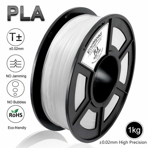 Enotepad PLA 3D Printer Filament,Dimensional Accuracy +/- 0.02 mm, 1Kg(2.2LBs)/Spool,Filament 3D Printing Materials,PLA 1.75 mm,Eco-friendly...