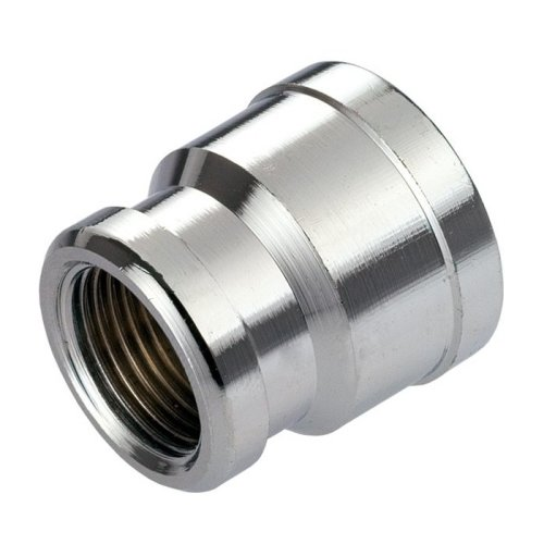 "Pipe Connection Reduction Female Fittings Muff Chrome 1/2""x3/8"" 3/4""x1/2"""