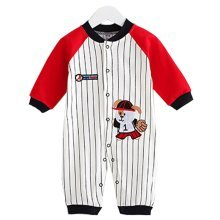 Baby Suit Clothing Long-Sleeved Cotton Baby Crawl Sports Clothing Q