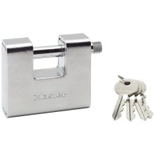 Master Lock Armoured Padlock Steel 80 mm 680EURD