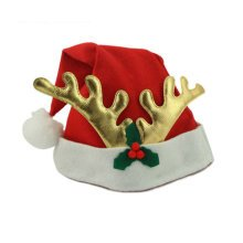 Set of 3 Christmas Hat Santa Hat for Christmas Decoration, Antler(Adults)