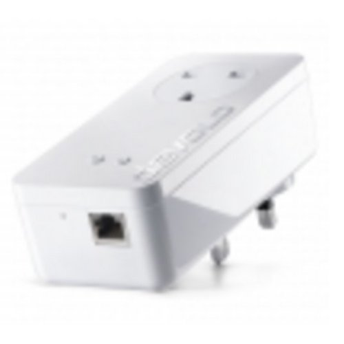 Devolo 550+ 300Mbit/s Ethernet LAN Wi-Fi White 1pc(s) PowerLine network adapter