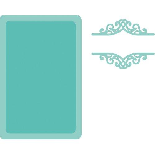 Kaisercraft Decorative Die-Book Plate & Label