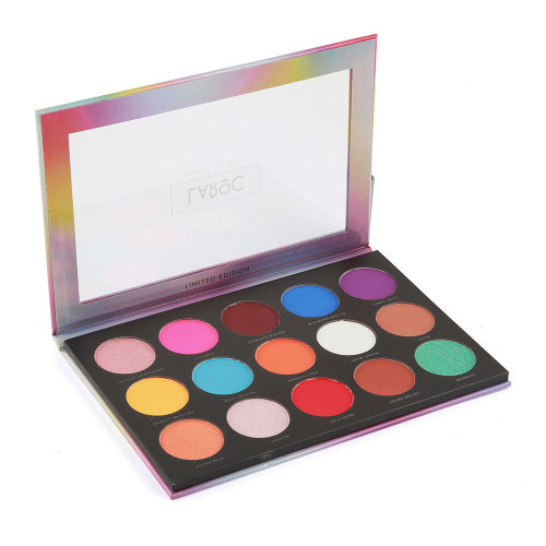 (Fruit Punch - Bright Eyeshadow) LaRoc 15-Colour Cocktail Collection Palette